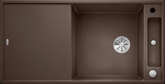Мойка AXIA III XL 6 S SILGRANIT PuraDur кофе, разделочный столик ясень c кл.-авт. InFino Заказная позиция BLANCO 523509