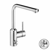 KLUDI L-INE Однорычажный кухонный смеситель, подключение стиральной/посудомоечной машины, арт. 428160577