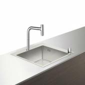 Кухонная комбинация hansgrohe C71-F450-06, хром 43201000