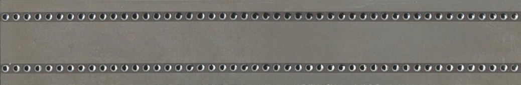 Бордюр Раваль обрезной 14,5х89,5х11 серый