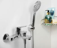 Lippe 4501 Смеситель для ванны с коротким изливом