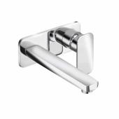 KLUDI E2 Настенный смеситель для раковины, 220 мм, арт. 492450575