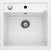 Мойка DALAGO 5 SILGRANIT PuraDur белый с клапаном-автоматом  BLANCO 518524