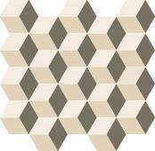 Мозаика Элемент Силк Куб Ворм 30.5х33