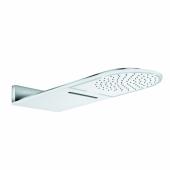 KLUDI A-QA Верхний душ, струи бодрящая, естественная, белый/хром, арт. 6488091-00
