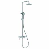 KLUDI LOGO DUAL SHOWER SYSTEM Душевая система со смесителем для ванны и душа, арт. 6808305-00