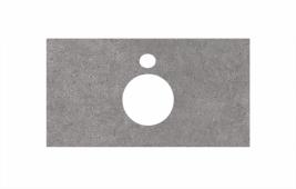 Спец. декоративное изделие для накладных раковин 80 см Фондамента серый