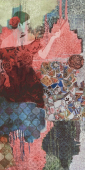 Декор Испанский пэчворк обрезной 119,5х238,5