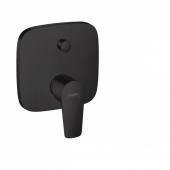 Смеситель hansgrohe Talis E для ванны, однорычажный, СМ, со встроенной защитной комбинацией, матовый черный 71474670