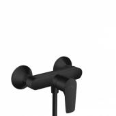 Смеситель hansgrohe Talis E для душа, однорычажный, ВМ, матовый черный 71760670