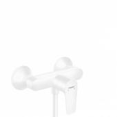 Смеситель hansgrohe Talis E для душа, однорычажный, ВМ, матовый белый 71760700