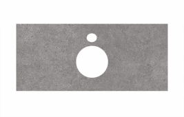 Спец. декоративное изделие для накладных раковин 100 см Фондамента серый