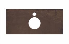 Спец. декоративное изделие для накладных раковин 100 см Про Феррум коричневый