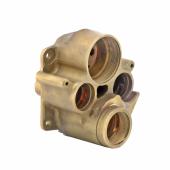 Адаптер для замененных подключений воды для KLUDI FLEXX.BOXX с термостатом, арт. 7400100-00