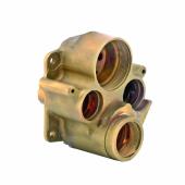 Адаптер для замененных подключений воды для KLUDI FLEXX.BOXX с термостатом, арт. 7653900-00