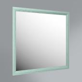 Панель с зеркалом Provence, 80 см зеленый