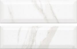 9034 Дорато белый грань 8.5*28.5 керамическая плитка