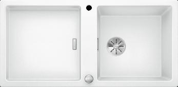 Мойка ADON XL 6 S SILGRANIT PuraDur белый с кл.-авт. InFino Заказная позиция BLANCO 525343