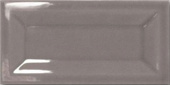 Плитка настенная Equipe In Metro Dark Grey 15*7,5