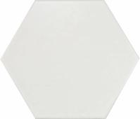 Керамогранит Equipe Hexatile Blanco mat 20*17,5