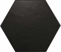 Керамогранит Equipe Hexatile Negro Mate 20*17,5
