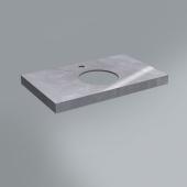 Спец. изделие декоративное 80х48 риальто серый  лаппатированный
