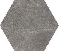 Керамогранит Equipe Hexatile Cement Black 20*17,5
