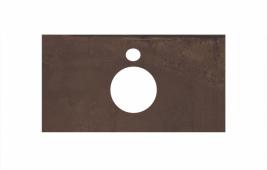 Спец. декоративное изделие для накладных раковин 80 см Про Феррум коричневый