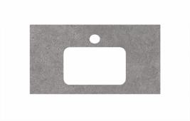 Спец. декоративное изделие для раковин, встраиваемых сверху, 80 см Фондамента серый