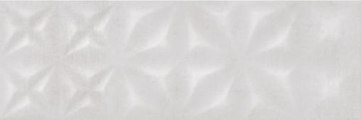 Плитка CERSANIT Apeks светло-серый 25*75 ASU522 рельеф
