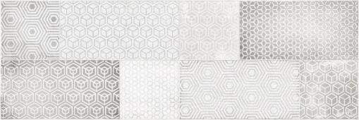 Вставка CERSANIT Atlas серый 20*60 AT2S091