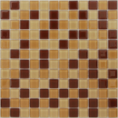 Мозаика Cacao 29,8х29,8x0,4 см (чип 23х23х4 мм)