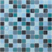 Мозаика Delphinium 29,8х29,8x0,4 см (чип 23х23х4 мм)