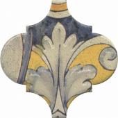 Декор Арабески Котто орнамент 6,5*6,5