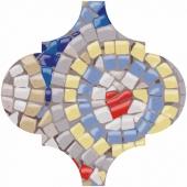 Декор Арабески Майолика гауди 6,5*6,5