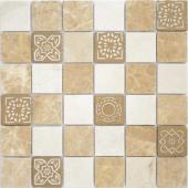 Мозаика Art Pietra Mix 1  матовая 30х30х0,8 см (чип 48х48х8 мм)