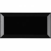 Biselado Negro Brillo 7,5*15