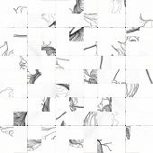 Мозаика Meissen Keramik Elegance белый 30*30 A-EG2O051/D