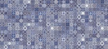 Плитка CERSANIT Hammam голубой 20*44 HAG041 рельеф