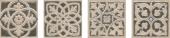 Вставка Парнас коричневый лаппатированный 9,5*9,5