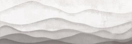 Вставка CERSANIT Haiku серый 25*75 HI2U091