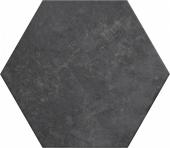 Плитка напольная (керамогранит) 24954 HERITAGE HEXAGONO Carbon 17,5х20 см