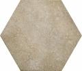 Плитка напольная (керамогранит) 24955 HERITAGE HEXAGONO Wheat 17,5х20 см