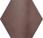Плитка напольная (керамогранит) 24956 HERITAGE HEXAGONO Wine 17,5х20 см