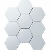 Керамическая мозаика Hexagon big White Matt (FQ31000/SBH1005) 256х295х6