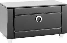 Инфинити Тумба напольная с ящиком, цвет черный Inf.03.08/BLK, 80*44,5*40