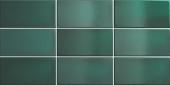 Плитка настенная CRACKLE Esmerald Green 7,5x15 см