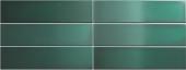 Плитка настенная CRACKLE Esmerald Green 7,5x30 см