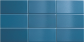 Плитка настенная CRACKLE Ocean Blue 7,5x15 см