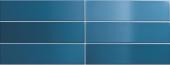 Плитка настенная CRACKLE Ocean Blue 7,5x30 см